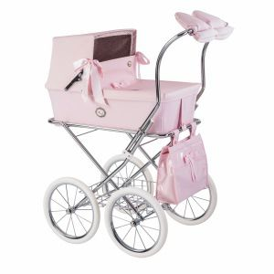 Pink Patent Leather Pram Bag